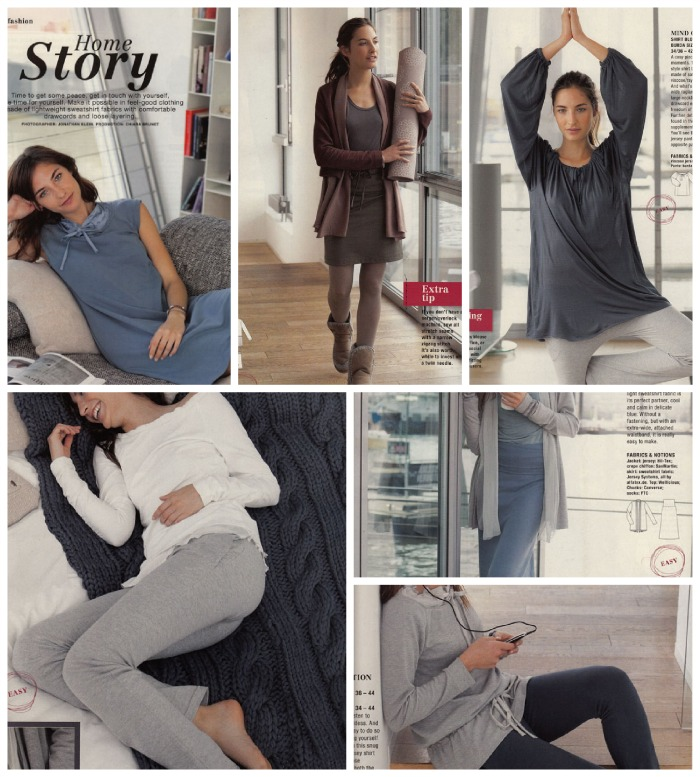 Home story loungewear