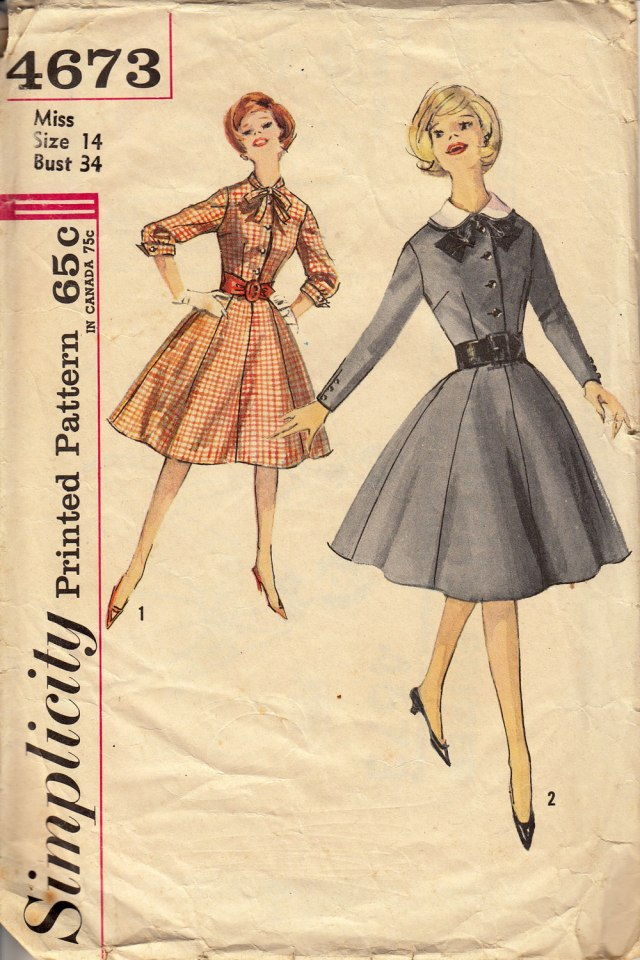 Simplicity 4673 1962