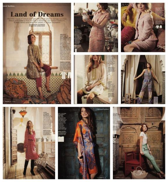 Oriental fashions