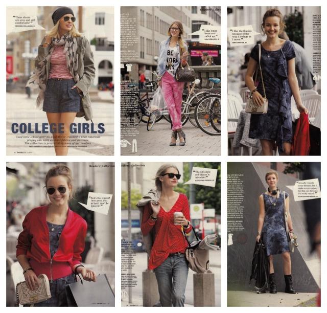 college girl fashion