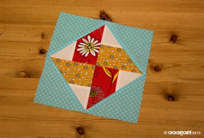 whirlwind square quilt block