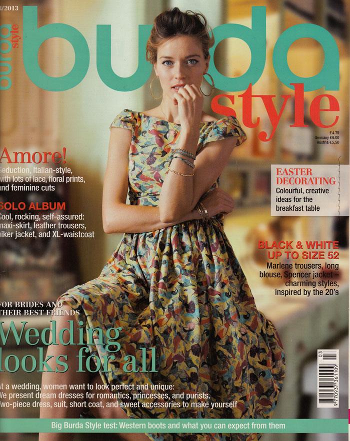 Ooobop Review Burda Style March 2013 Ooobop