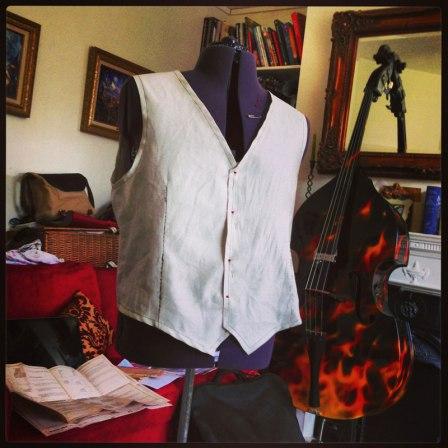 waistcoat toile