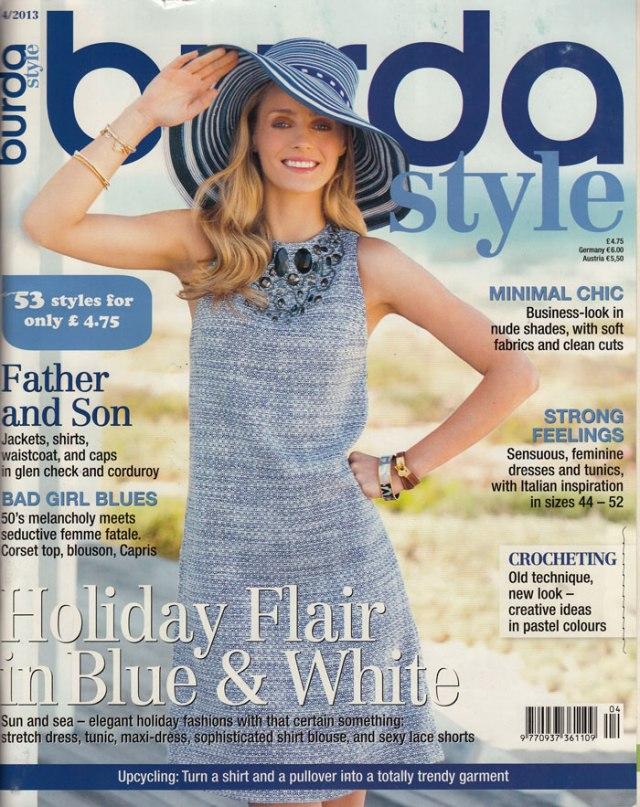 Burda April 2013 cover