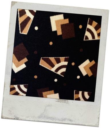 geometric fabric detail