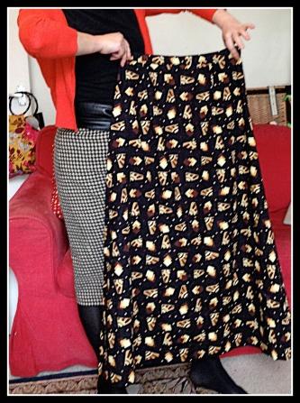 Jean's original skirt