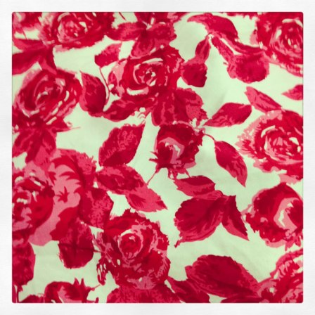 floral fabric for actual Elisalex dress