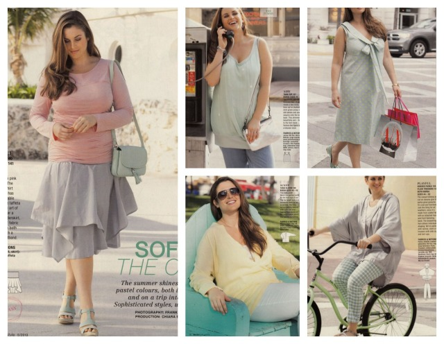 Burda May 2013 Plus size