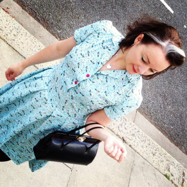 Day 9 1940s shoe dress