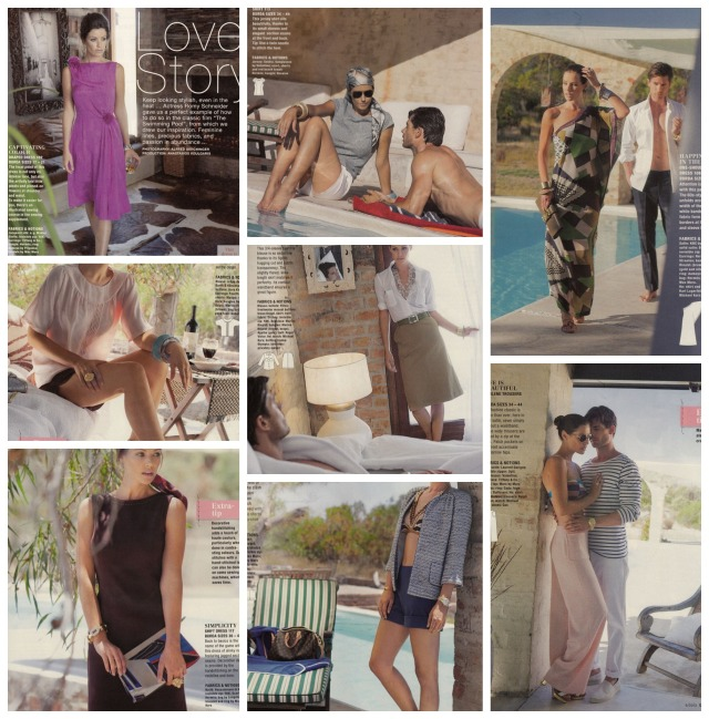 Summer fashion Burda June 2013