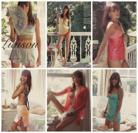 Burda July 2013 lingerie