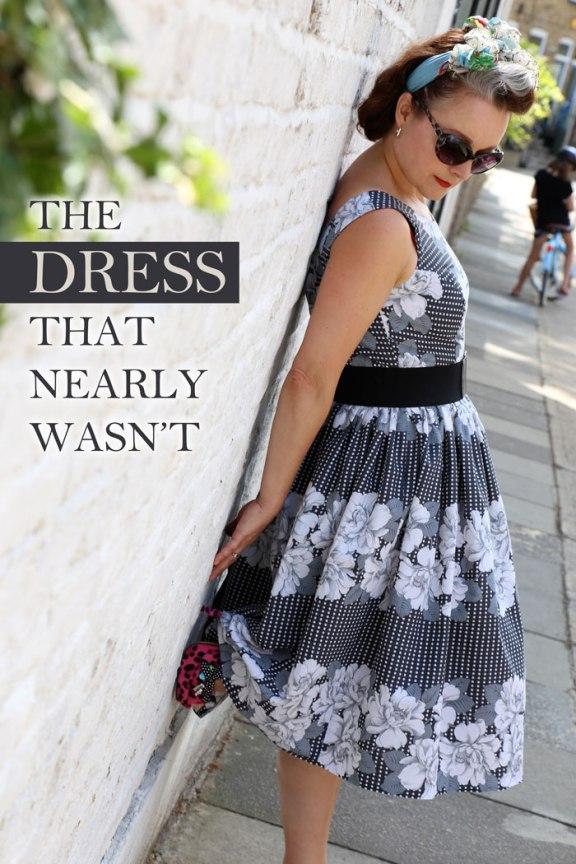 Spotty rose dress