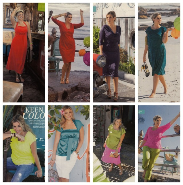Burda July 2013 plus fashions
