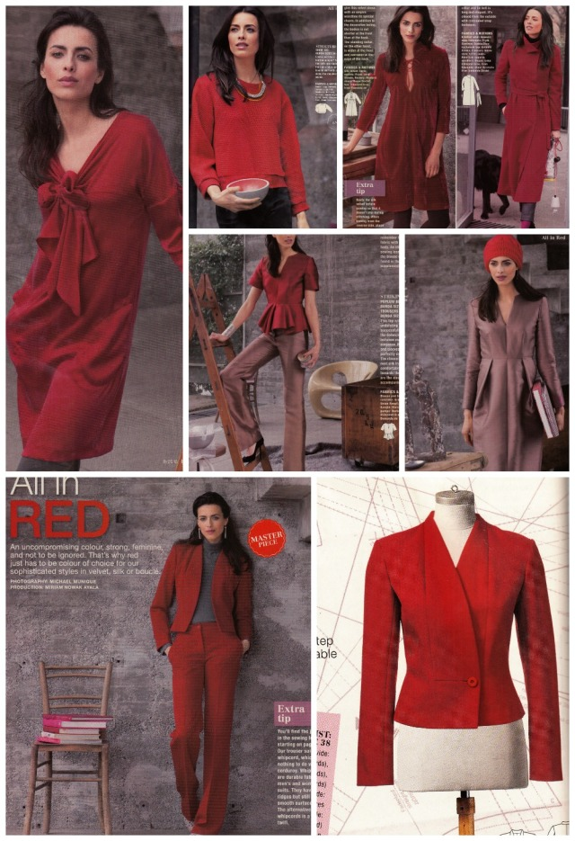 all in red section