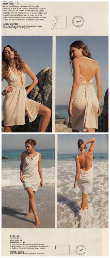 Burda July 2013 wrap dresses