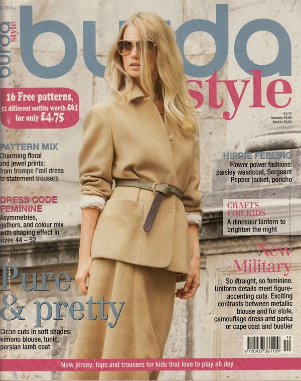 Burdastyle magazine October 2013