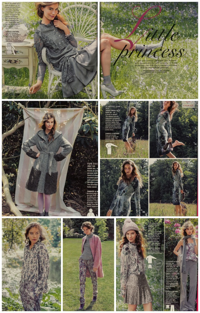 Light and breezy fashions burda october 2013