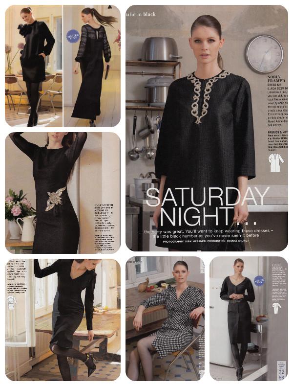 burda 11-13 black garments