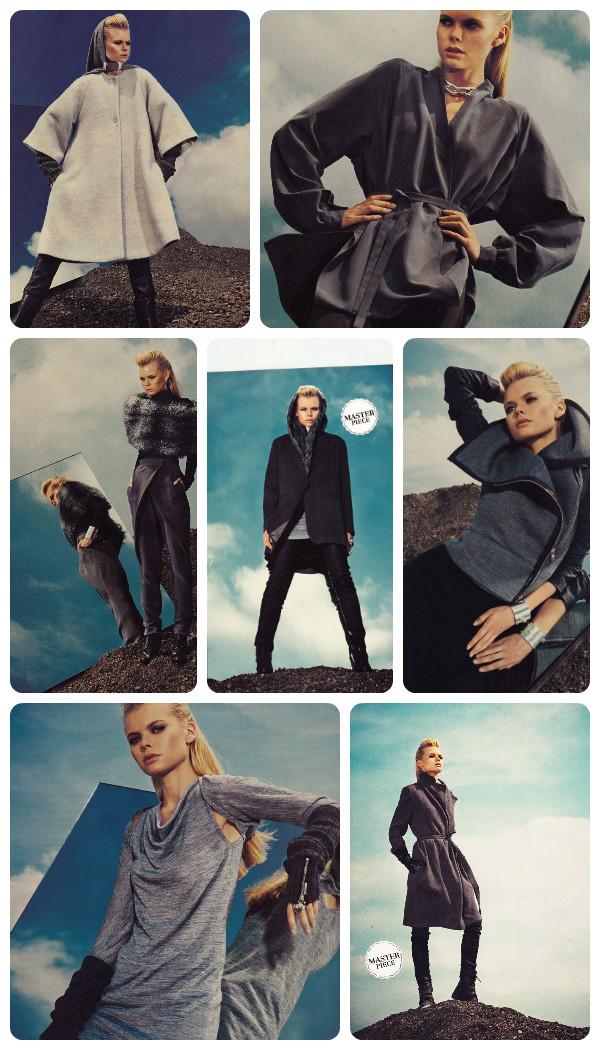 Burda 11-13 Grey garments