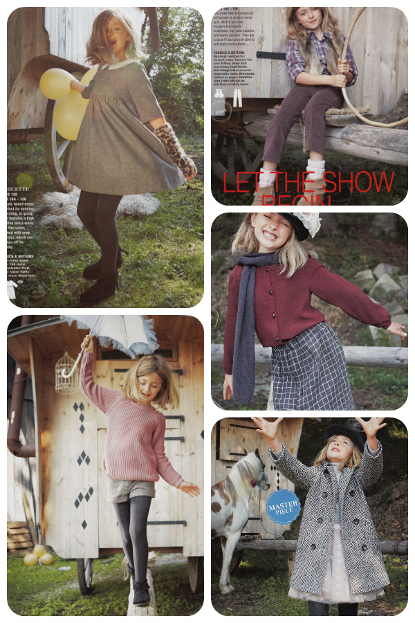 burda 11-13 kids clothes