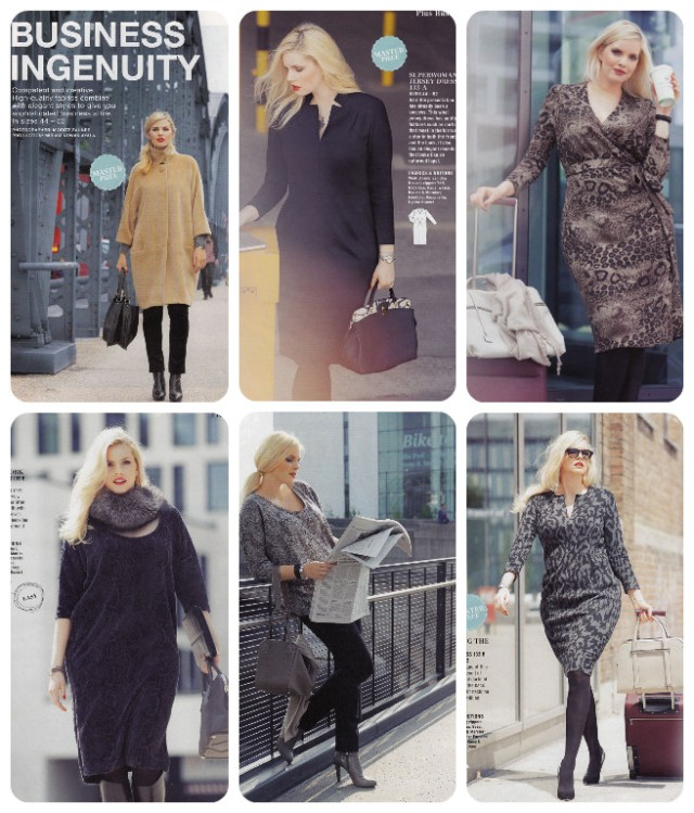 burda 11-13 plus fashions