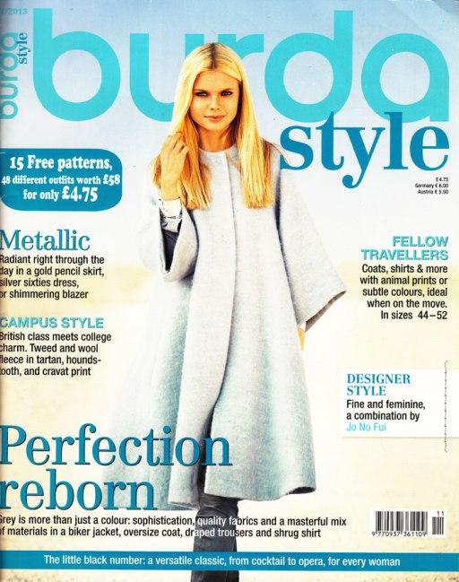 Burda cover November 2013