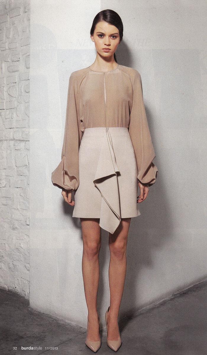 Alessia Giacobino blouse and skirt
