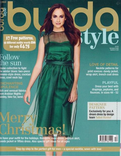 Burda magazine december 2013