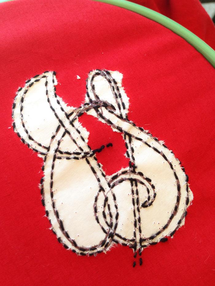 padding stitches