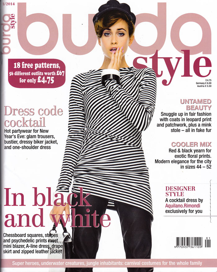 Burda Style Mag January 2014