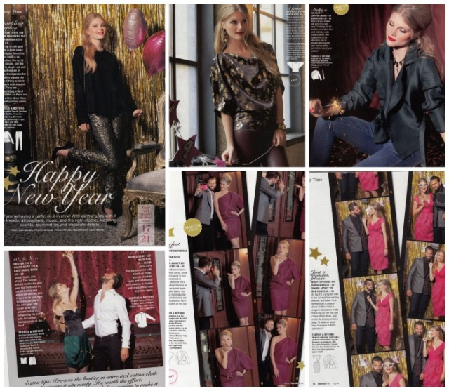 party clothes burda January 2014