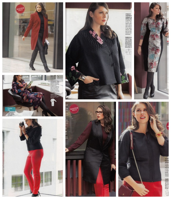 plus fashion burda jan 2014