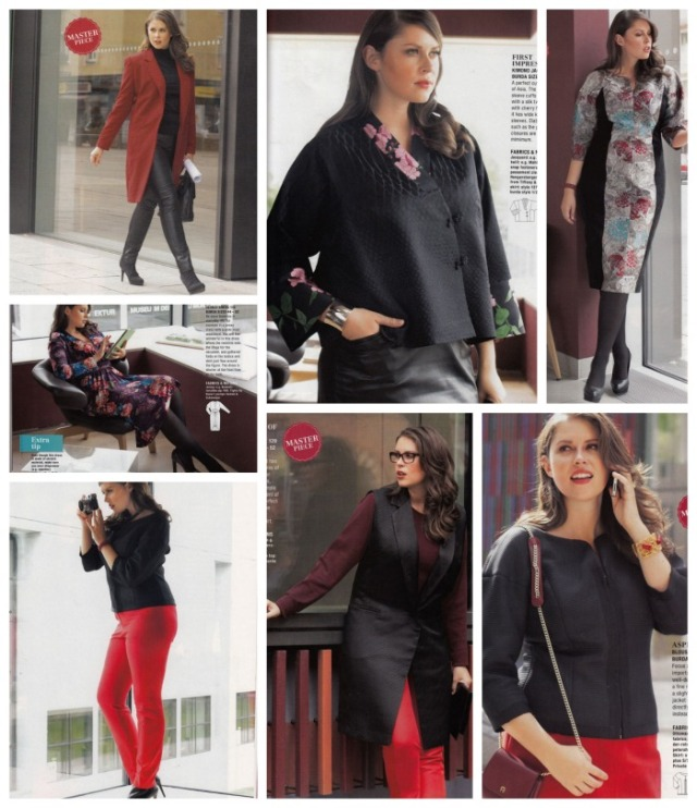 plus fashion burda jan 2014