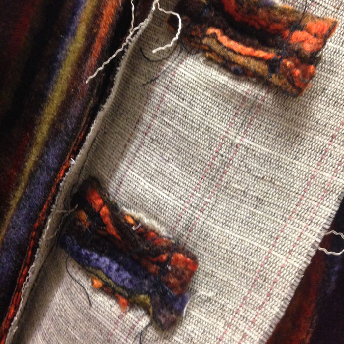 bound buttonholes reverse