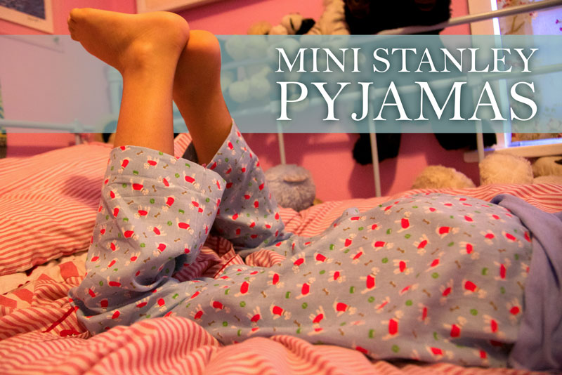 Mini stanley pyjamas