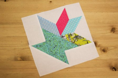 basket of flowers quilt block