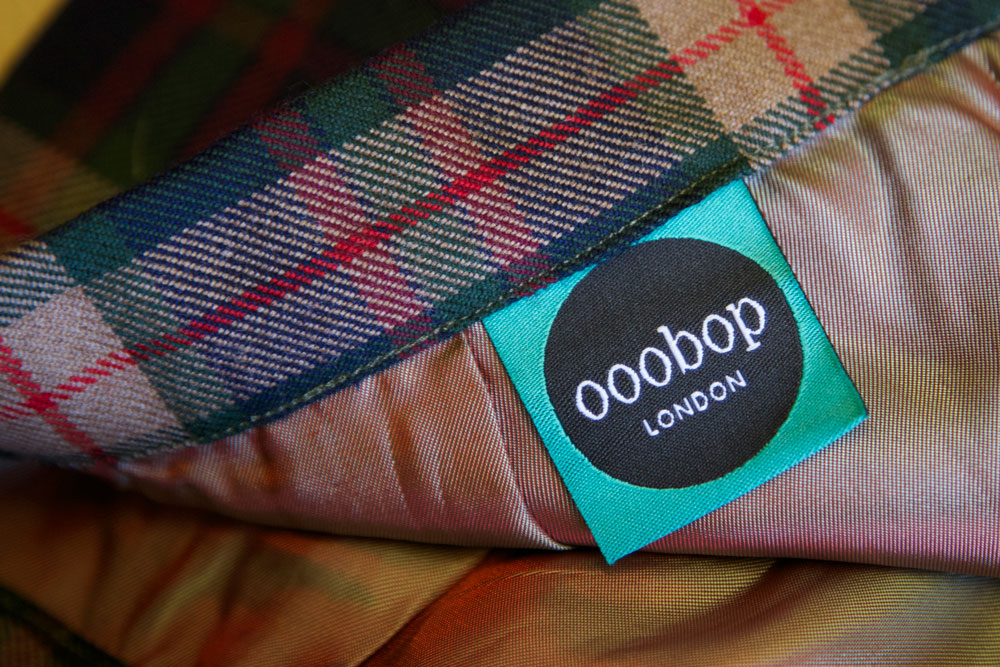 ooobop label sewn in skirt