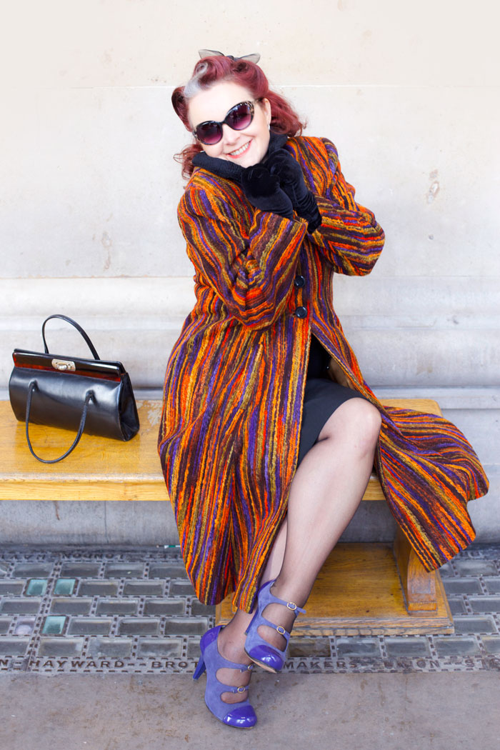 warm vintage coat