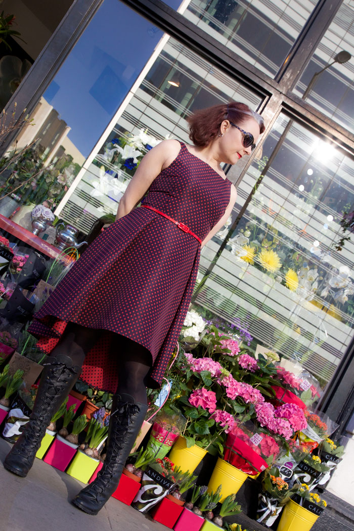flora dress by hand london