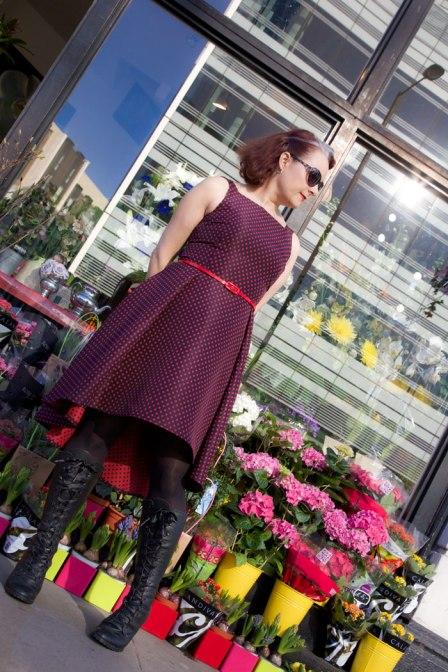 flora dress by hand london